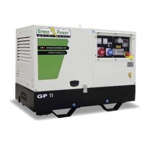 Green Power dizelski agregat GP 10000 SM/KW 3000rpm (tiho delovanje)